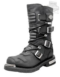 mc ride boots 96035 harley davidson mens axel black leather high cut boot