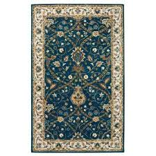 Brown And Blue Rug Blue Area Rugs Rugs The Home Depot