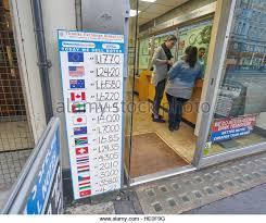 bureau de change 95 bureau de change currency exchange stock photos bureau de change