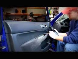 honda civic door panel removal how to repair the power window in