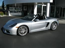 silver porsche boxster 2017 silver porsche boxster in washington for sale used cars on
