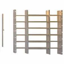 Basement Window Security Bars by Grisham Pp Spag 3 Bar Window Guard In Black 93013 The Home Depot