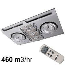 bathroom ventilation fans light and heat home decoration