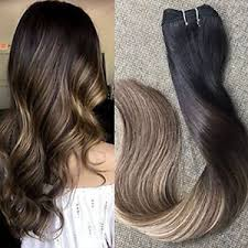 sewed in hair extensions balayage hair weft extensions sew in remy hair