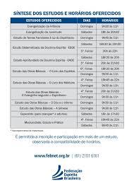 Preferidos Retorno dos estudos na FEBFederação Espírita Brasileira #MX37
