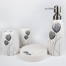 Contemporary Bathroom Accessories Sets - bathroom accessory sets u2013 home interior plans ideas