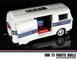 martini rossi racing lego vw t1 parts bulli martini international racing flickr