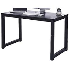 Modern Espresso Desk Merax 16106 Modern Simple Design Computer Desk Table