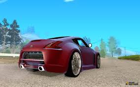 custom nissan 370z nissan 370z drift edition for gta san andreas