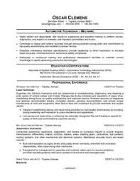 Sample Resume For Auto Mechanic by Traditional Elegance Resume Template Career Tips Pinterest