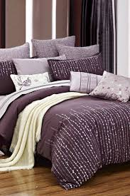 Plum Bed Set Purple Duvet Cover Sweetgalas