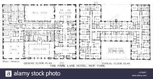 stock floor plans floor plans the park lane hotel new york city 1924 artist