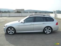 2007 bmw 328i silver titanium silver metallic 2007 bmw 3 series 328i wagon exterior