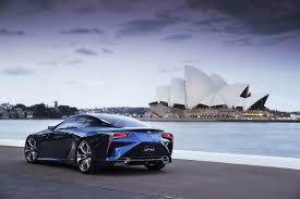 lexus sc400 blue lexus lf lc concept gets the blues for the 2012 sydney auto show