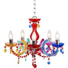 Multi Coloured Chandeliers Lucide 78351 05 99 Arabesque Chandelier 5xe14 40w Multicolor