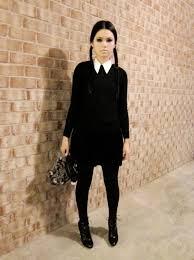 Adam Family Halloween Costumes Pin Katie Hunsberger Diy Wednesday Addams