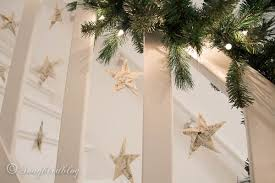 Christmas Banister Garland Finally I Have A Christmas Staircase Garland Songbird