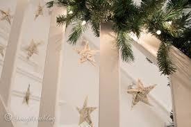 Christmas Banister Garland Finally I Have A Christmas Staircase Garland Songbird