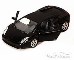 Lamborghini Gallardo Black - lamborghini gallardo sports car black kinsmart 5098d 1 32