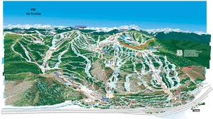 Map Of Colorado Ski Resorts by Vail Skimap Org