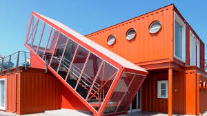 Shipping Container Home Interiors Home Interior Red Modern Shipping Container Home Idea Design