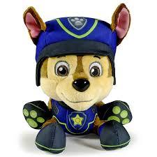 amazon com paw patrol spy chase plush toys u0026 games