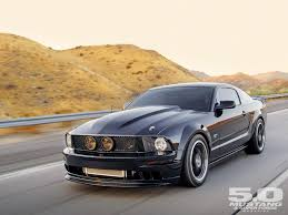 Black 5 0 Mustang 2006 Ford Mustang Gt Back In Black 11 Second U002706 Gt Photo