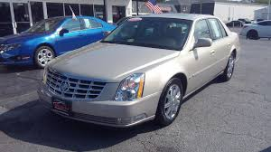 2007 cadillac dts luxury i carfax certified heated and cooled