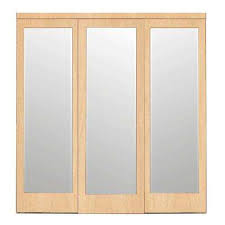 mirror door sliding doors interior u0026 closet doors the home depot