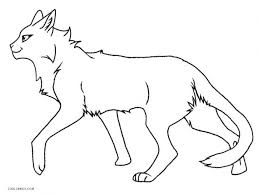 coloring pages cats dogs horses warrior cat pictures