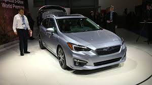 2017 subaru impreza hatchback trunk 2017 subaru impreza sedan and hatch debut at new york auto show