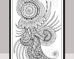 coloring pages henna art printable adult coloring page colouring card zentangle henna