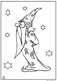 26 magic coloring pages free images colouring