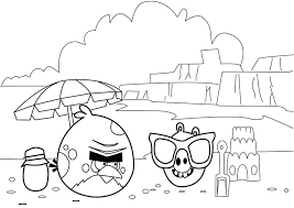 angry birds free coloring pages funycoloring