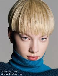 short haircuts above ears hair cut in a straight line right above the ears