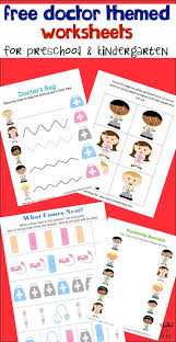 learning about healthcare plus free worksheets for kids doctor
