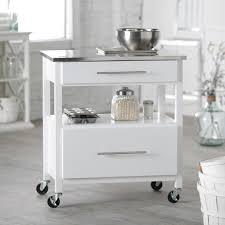 Hayneedle Kitchen Island White Portable Bars On Wheels U2013 Home Design And Decor