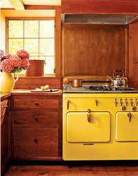 Retro Kitchen Design by Kitchen Yellow Vintage Kitchen Luxury Interior Design Idea