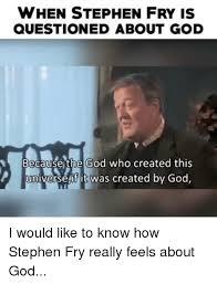 Create Fry Meme - 25 best memes about stephen fry stephen fry memes
