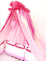 Cot Bed Canopy Bed Canopy For Girls Nursery Cot Canopy Natural Linen