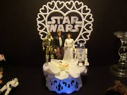 Star Wars Room Decor Etsy by Star Wars Princess Leia Han Solo R2d2 C 3po Wedding Cake Topper