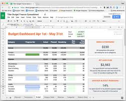 the simplest spreadsheet budget available introducing tiller