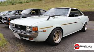 toyota coupe a perfect 1st gen toyota celica gtv coupe tosco wheels youtube
