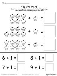 early childhood addition worksheets myteachingstation com