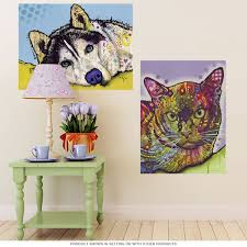 burmese cat dean russo pop art wall decal pet wall decor bizrate store ratings summary