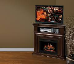 electric media console fireplace depot