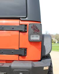 jeep light covers fishbone offroad fb31043 light covers for 07 17 jeep wrangler
