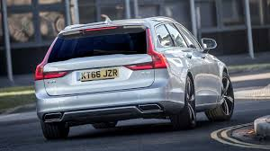 blue volvo station wagon 2017 volvo v90 review
