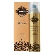 get an instantly bronzed look using air brush instant self tanning spray by fake bake continuous spray nozzle allows you to spray anywhere on your body