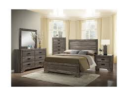 Bedroom Sets Norfolk Va Elements International Nathan King Bedroom Set Johnny Janosik